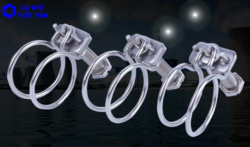 Đai xiết inox 304 loại dây đôi inox 304 / 316 / 201